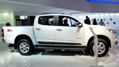 Внедорожник Chevrolet Trailblazer и пикап Colorado