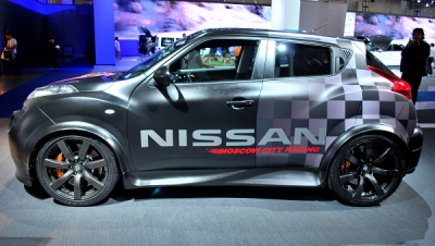 Nissan Juke-R Moscow City Racing