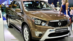 SsangYong Actyon и Actyon Sports в Москве