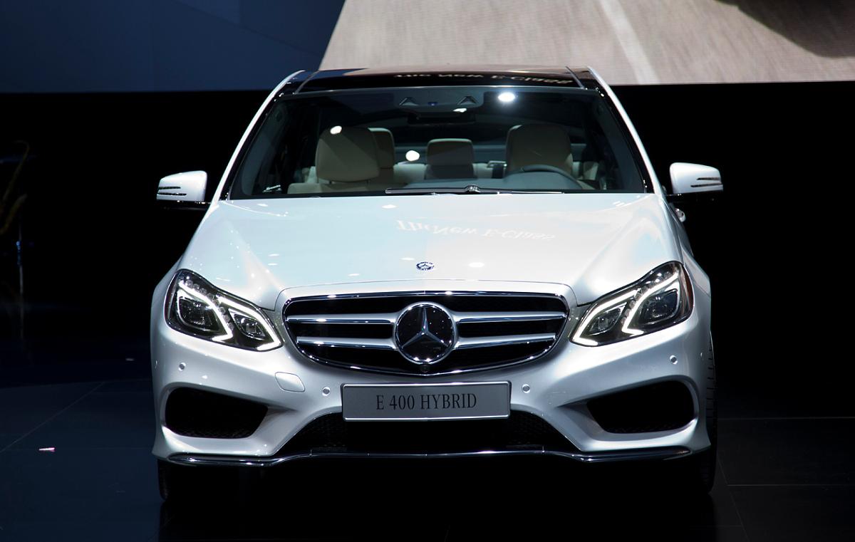 Семейство Mercedes-Benz E-Class нового поколения - фото - LiveCars.Ru