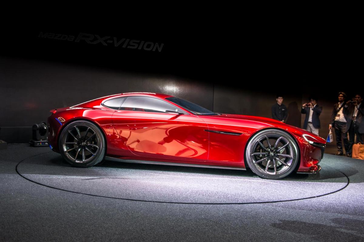 Новый RX от Mazda. Ротор: «I'll be back»