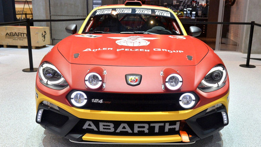 Fiat Abarth 124 Spider Rally