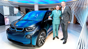BMW i8 & i3 Garage Italia CrossFade