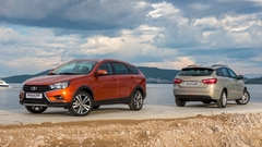 Универсал LADA Vesta SW и Vesta SW Cross