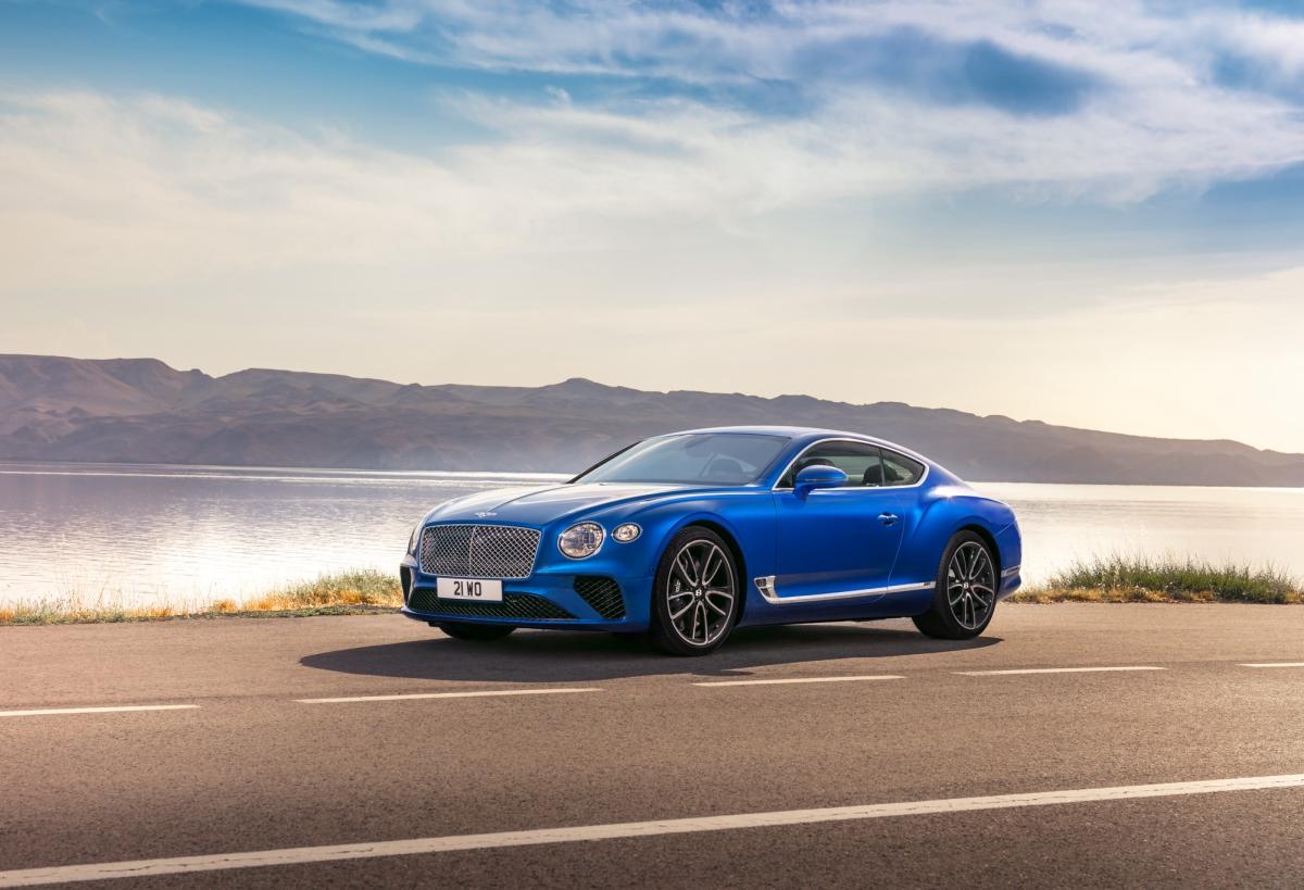 Bentley Continental GT 2018 фото, цена, характеристики