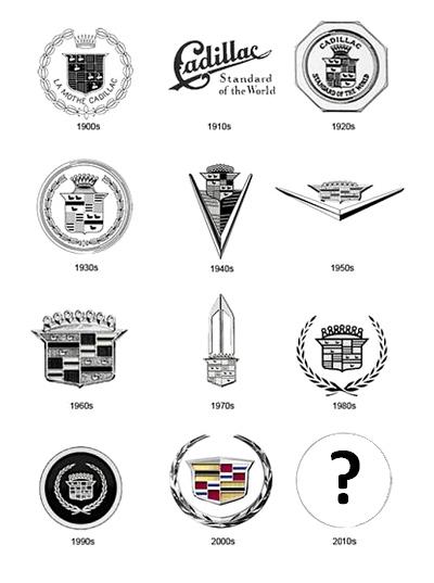 Логотип Cadillac лишится старомодного лаврового венка - новости ...